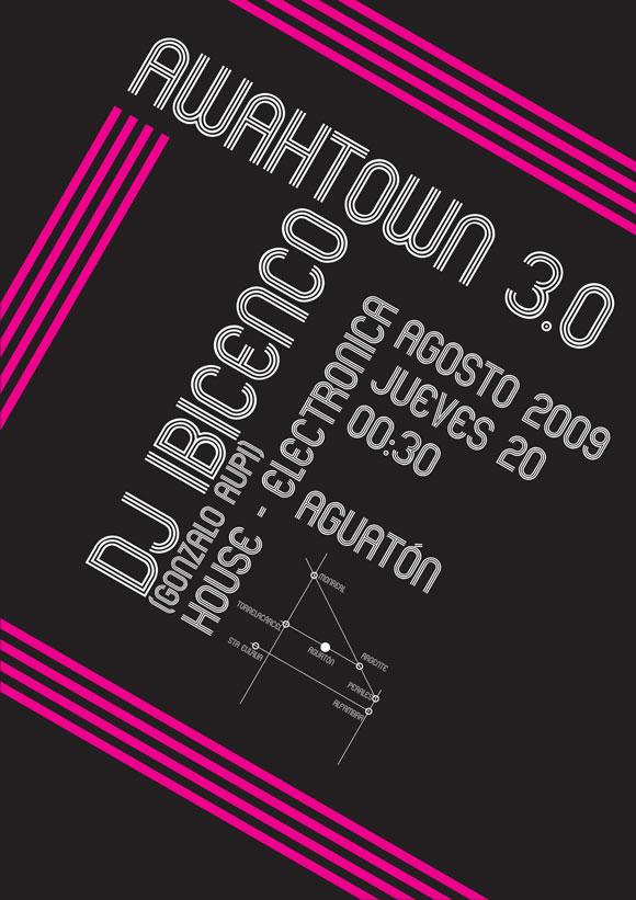 Semana Cultural 2009: La tercera edición del Awahtown toma aires electrónicos
